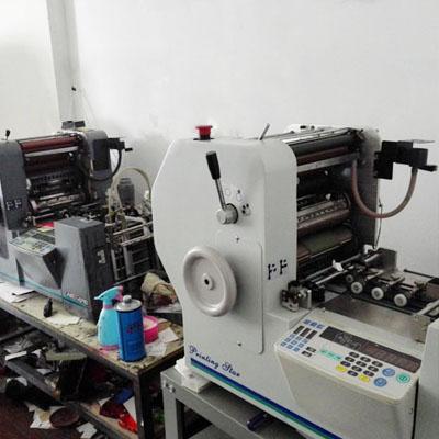 手工专色名片印刷机