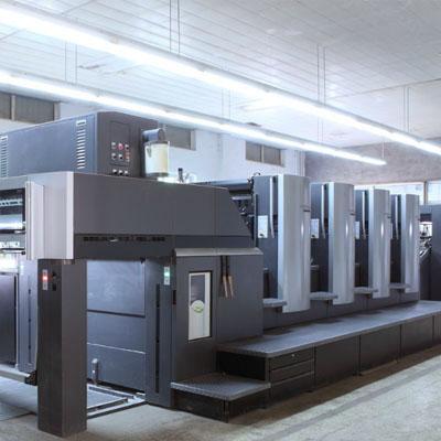德国海德堡四色印刷机