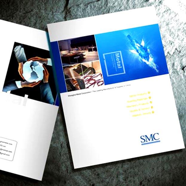 SMC气动元件样册设计印刷