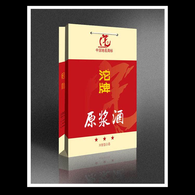 中国名酒沱牌原浆酒手提袋印刷