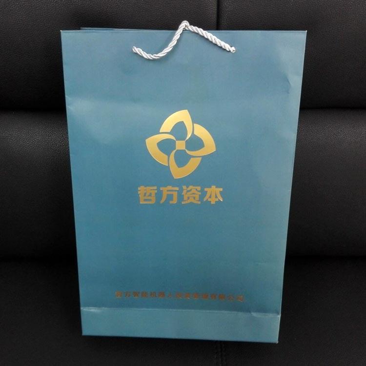 上海哲方资本烫金手提袋印刷