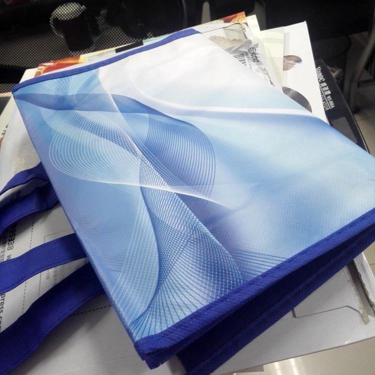 上海水利集团无纺布淋膜手提袋制作